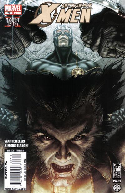 Cover for Astonishing X-Men (Marvel, 2004 series) #27