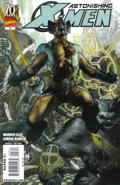 Cover for Astonishing X-Men (Marvel, 2004 series) #28