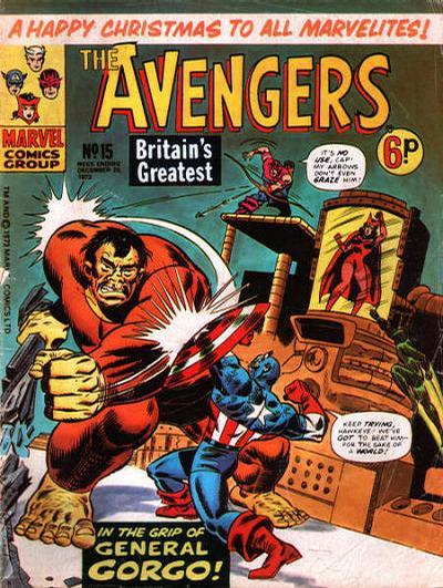 Cover for The Avengers (Marvel UK, 1973 series) #15