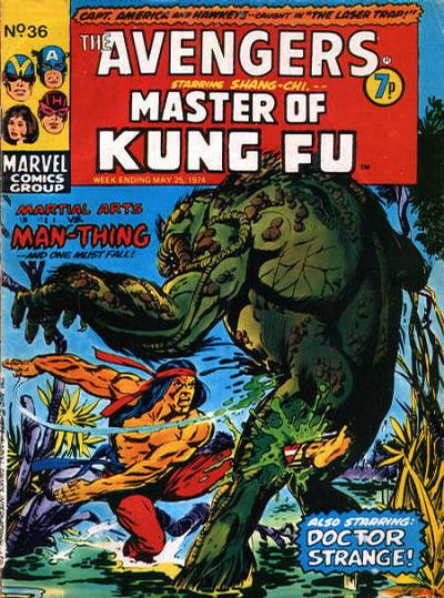 Cover for The Avengers (Marvel UK, 1973 series) #36