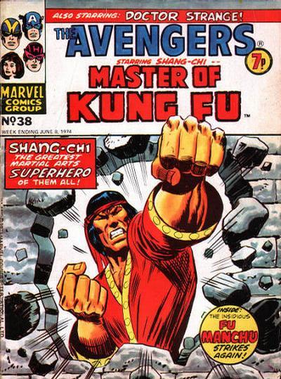 Cover for The Avengers (Marvel UK, 1973 series) #38