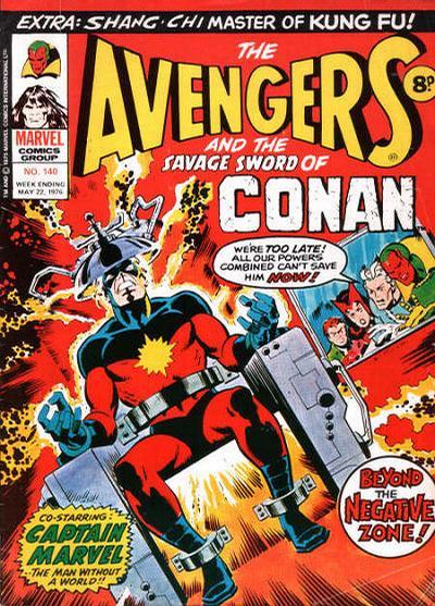 Cover for The Avengers (Marvel UK, 1973 series) #140