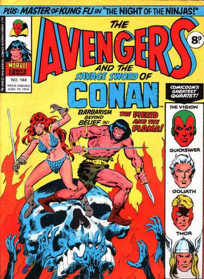 Cover for The Avengers (Marvel UK, 1973 series) #144