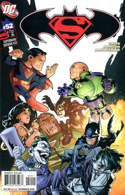 Cover for Superman / Batman (DC, 2003 series) #52