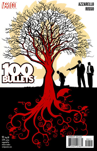 Cover for 100 Bullets (DC, 1999 series) #92