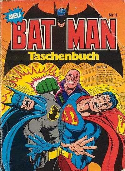 Cover for Batman Taschenbuch (Egmont Ehapa, 1978 series) #1