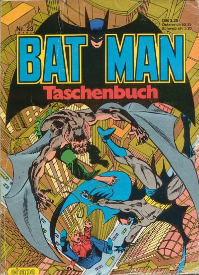 Cover for Batman Taschenbuch (Egmont Ehapa, 1978 series) #23