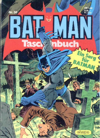 Cover for Batman Taschenbuch (Egmont Ehapa, 1978 series) #30