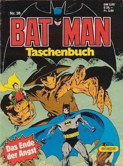 Cover for Batman Taschenbuch (Egmont Ehapa, 1978 series) #36