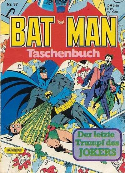 Cover for Batman Taschenbuch (Egmont Ehapa, 1978 series) #37