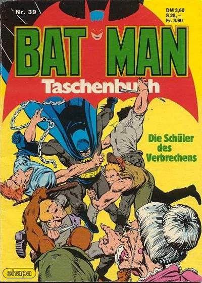 Cover for Batman Taschenbuch (Egmont Ehapa, 1978 series) #39