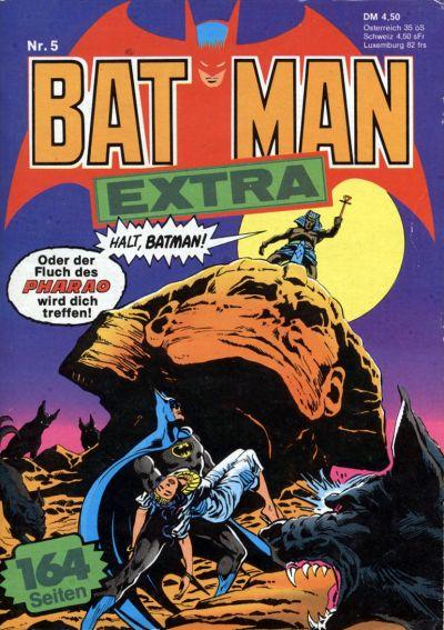 Cover for Batman Extra (Egmont Ehapa, 1980 series) #5
