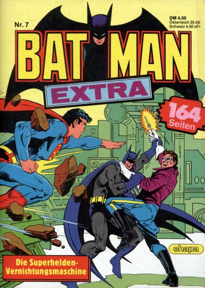 Cover for Batman Extra (Egmont Ehapa, 1980 series) #7