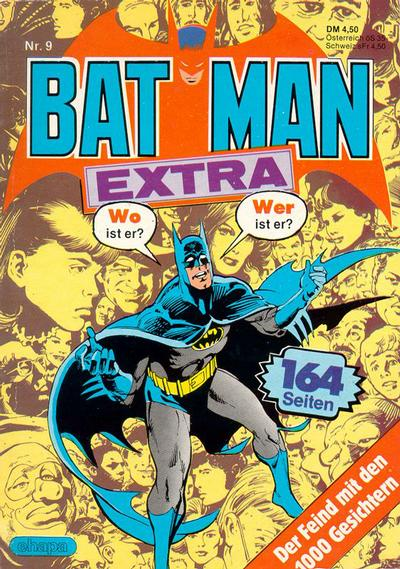 Cover for Batman Extra (Egmont Ehapa, 1980 series) #9