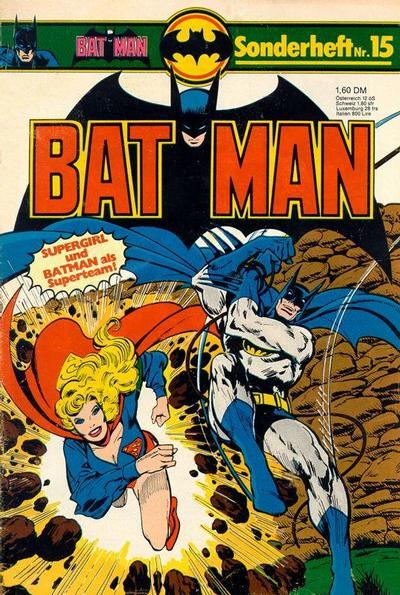 Cover for Batman Sonderheft (Egmont Ehapa, 1976 series) #15