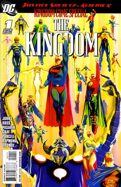 Cover for JSA Kingdom Come Special: The Kingdom (DC, 2009 series) #1 [Fernando Pasarin Cover]