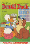 Cover for Donald Duck (Oberon, 1972 series) #53/1987