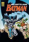 Cover for Batman Album (Norbert Hethke Verlag, 1989 series) #9 - Das dritte Jahr, Teil 1