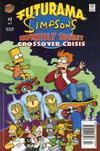 Cover for Futurama Simpsons Infinitely Secret Crossover Crisis (Bongo, 2002 series) #2