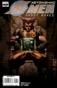 Cover Thumbnail for Astonishing X-Men: Ghost Boxes (Marvel, 2008 series) #1