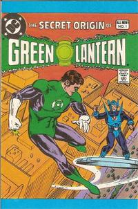 Cover Thumbnail for The Secret Origin of Green Lantern [Leaf Comic Book Candy] (DC, 1980 series) #1
