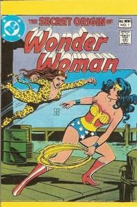 Cover Thumbnail for The Secret Origin of Wonder Woman [Leaf Comic Book Candy] (DC, 1980 series) #1