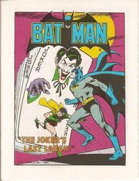 Cover Thumbnail for Batman [Post Super Heroes Mini-Comic] (DC, 1980 series) #[nn]
