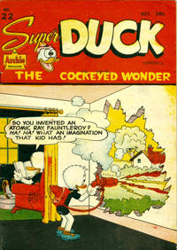 Cover for Super Duck Comics (Bell Features, 1948 series) #22