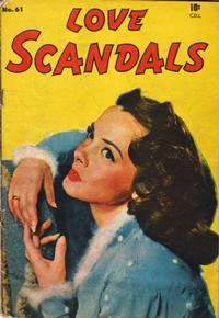 Cover Thumbnail for Love Scandals (Bell Features, 1950 series) #61