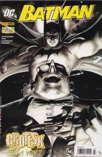 Cover Thumbnail for Batman (Panini Deutschland, 2007 series) #7