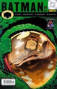 Cover Thumbnail for Batman (Panini Deutschland, 2001 series) #22