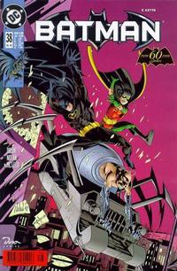 Cover for Batman (Dino Verlag, 1997 series) #38