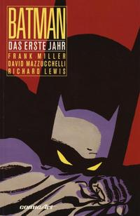 Cover Thumbnail for Batman (Carlsen Comics [DE], 1989 series) #[2] -  Das erste Jahr