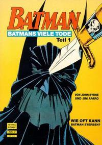Cover Thumbnail for Batman Album (Norbert Hethke Verlag, 1989 series) #7 - Batmans viele Tode, Teil 1