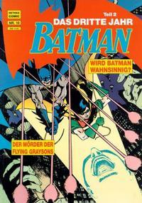 Cover Thumbnail for Batman Album (Norbert Hethke Verlag, 1989 series) #10 - Das dritte Jahr, Teil 2