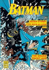 Cover Thumbnail for Batman Album (Norbert Hethke Verlag, 1989 series) #12 - Jeder stirbt für sich allein, Teil 2