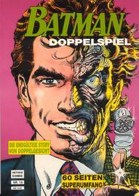 Cover Thumbnail for Batman Album (Norbert Hethke Verlag, 1989 series) #16 - Doppelspiel