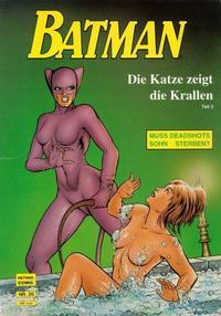 Cover Thumbnail for Batman Album (Norbert Hethke Verlag, 1989 series) #20 - Die Katze zeigt die Krallen, Teil 3