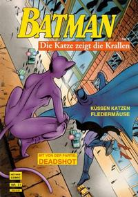 Cover Thumbnail for Batman Album (Norbert Hethke Verlag, 1989 series) #21 - Die Katze zeigt die Krallen, Teil 4