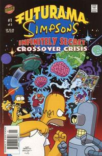 Cover Thumbnail for Futurama Simpsons Infinitely Secret Crossover Crisis (Bongo, 2002 series) #1