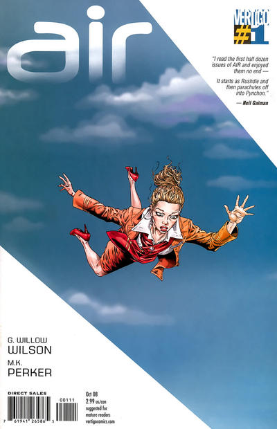 Cover for Air (DC, 2008 series) #1