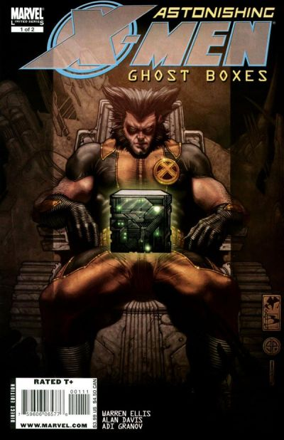 Cover for Astonishing X-Men: Ghost Boxes (Marvel, 2008 series) #1