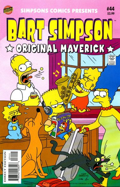 Cover for Simpsons Comics Presents Bart Simpson (Bongo, 2000 series) #44