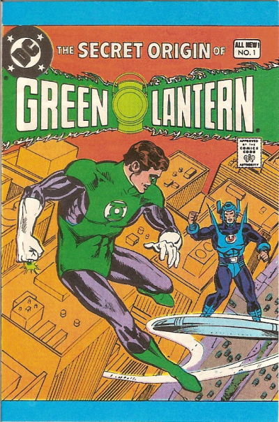 Cover for The Secret Origin of Green Lantern [Leaf Comic Book Candy] (DC, 1980 series) #1