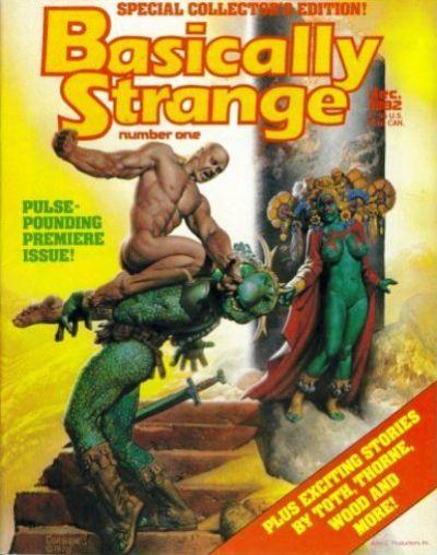 Cover for Basically Strange (JC Comics, 1982 series) #1