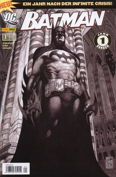 Cover for Batman (Panini Deutschland, 2007 series) #1