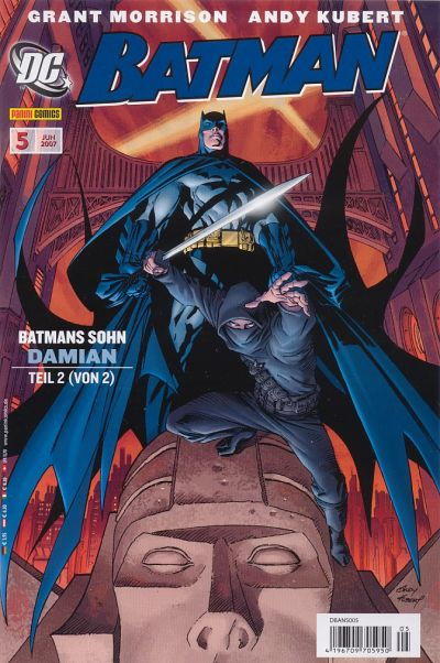 Cover for Batman (Panini Deutschland, 2007 series) #5