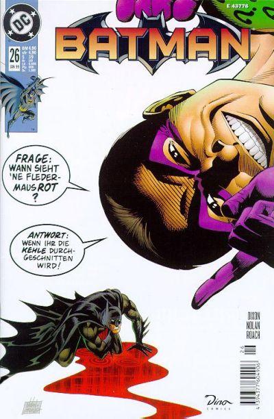 Cover for Batman (Dino Verlag, 1997 series) #26