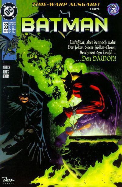 Cover for Batman (Dino Verlag, 1997 series) #33