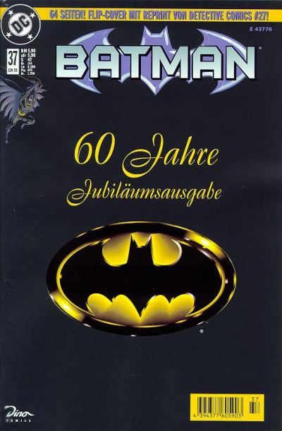 Cover for Batman (Dino Verlag, 1997 series) #37
